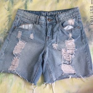 Pants - Boyfriend Bermuda shorts